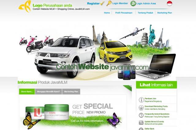 Foto: Jasa Buat Website Dan Sistem Mlm