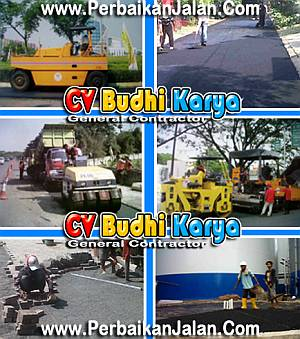 Foto: Kontraktor Pengaspalan Jalan Aspal Hotmix Cv. Budhi Karya
