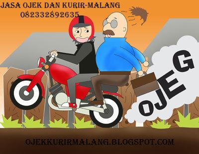 Foto: Jasa Ojek Kota Malang