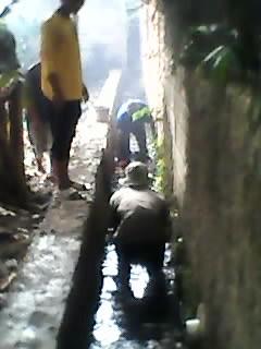 Foto: Jasa Tukang Pembuatan Drainase Atau Saluran Air