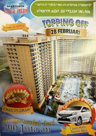 Foto: Apartemen Teluk Intan – Tower Sapphire ( Jewel Of Jakarta )