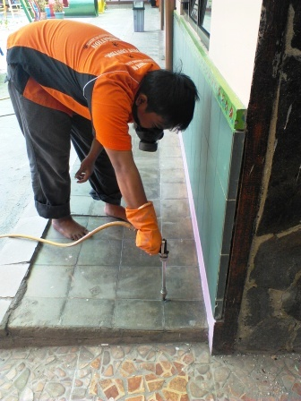 Foto: Iklan Jasa Anti Rayap Terpercaya Hub:mulyadi
