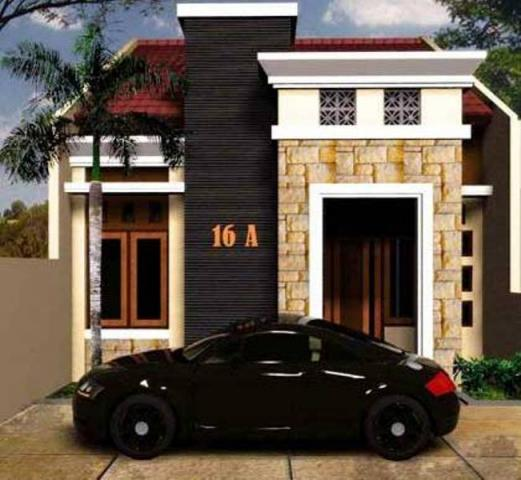 Foto: Dijual Rumah Murah Gaya Moderen Dp 10% Selatan Kota Jogja