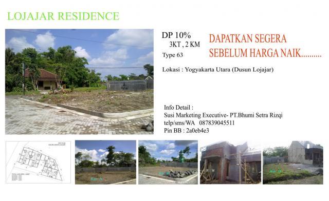 Foto: Rumah Baru Dp 10% Di  Yogyakarta