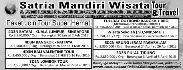 Foto: Paket Tour Bangka Belitung Murah & Terpercaya