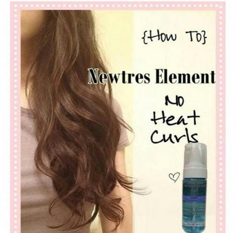 Foto: Newtress Elemen Curly Instan Mudah Cepat Tahan Lama Dan Awet