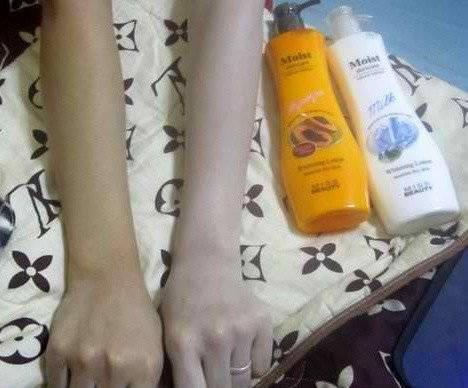 Foto: Miss Beauty Moist Whitening Lotion Memutihkan Secara Instan