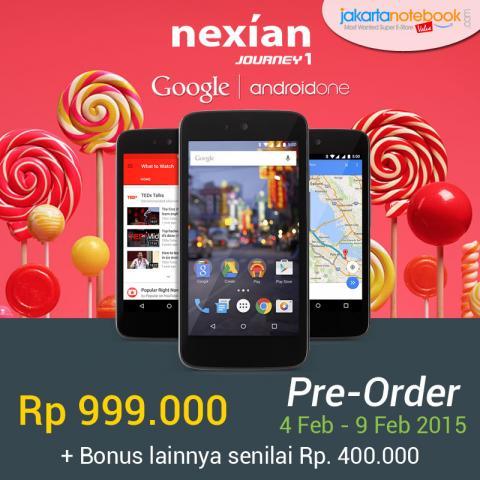Foto: Google Android One Rp 999.000 + Bonus 400 Ribu