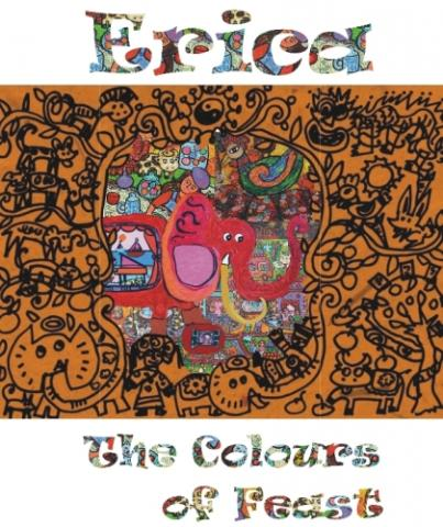 Foto: Pameran Tunggal Erica The Colours Of Feast