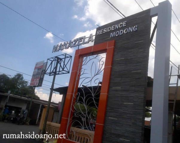 Foto: Perumahan Manazela Residance Asri Sidoarjo