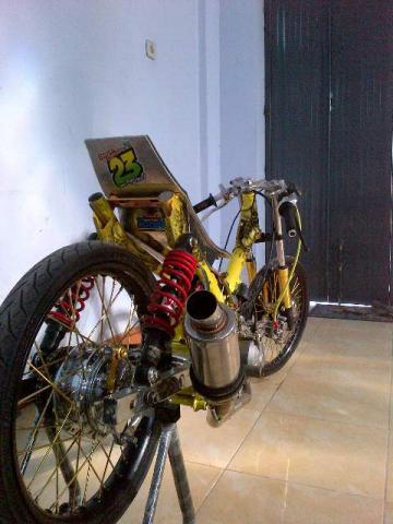 Foto: Motor Drag Bike Vega 2001