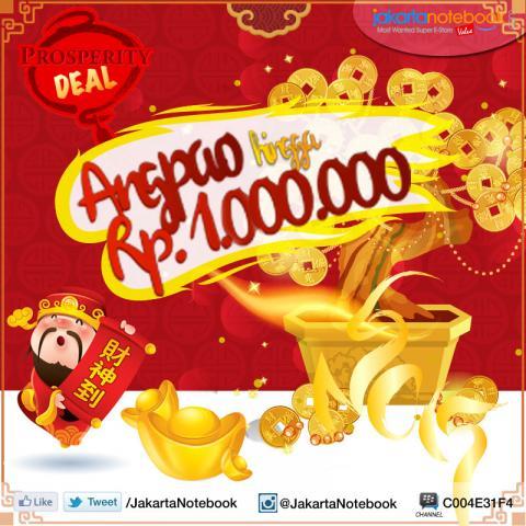 Foto: Prosperity Deal, Dapat Angpao Hingga Rp 1jt