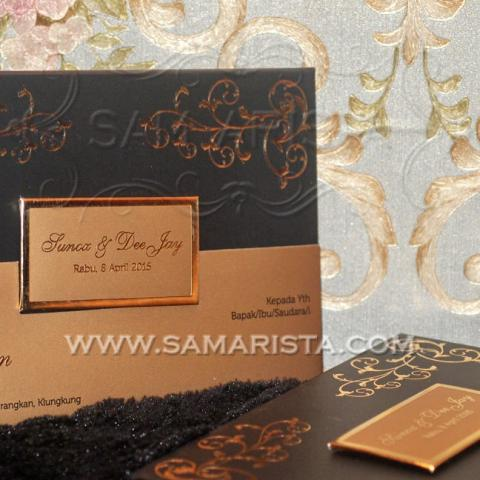 Foto: Cetak Undangan Pernikahan Hardcover Murah Dan Cantik