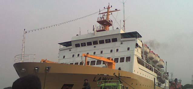 Foto: Expedisi Kiriman Barang Via Kapal Cepat