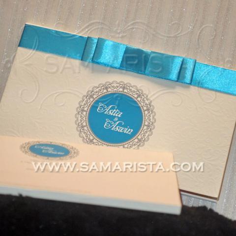 Foto: Kartu Undangan Pernikahan Unik Hardcover