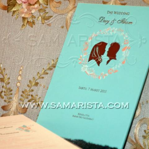 Foto: Kartu Undangan Pernikahan Modern Minimalis Cantik