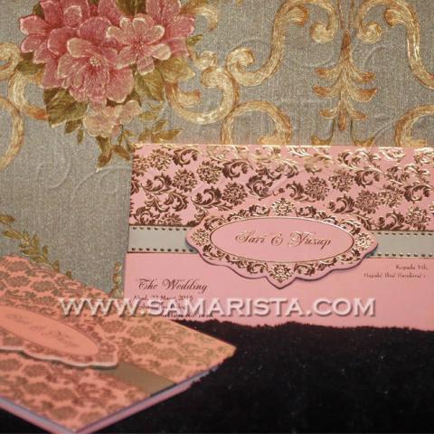 Foto: Kartu Undangan Pernikahan Hardcover Modern Cantik
