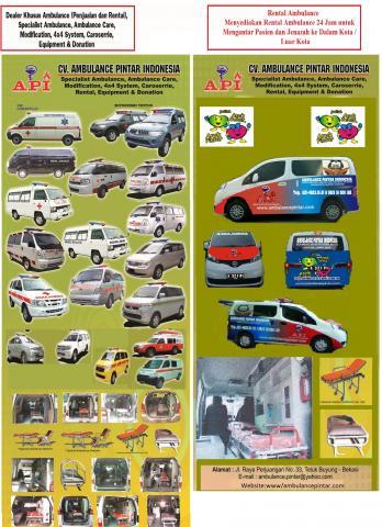 Foto: Menjual,modifikasi Dan Sewa Ambulance