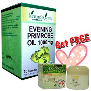 Foto: Natures Care Evening Primerose Oil (epo) + Lanolin