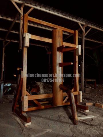 Foto: Jual Mok Yan Jong / Wooden Dummy / Manusia Kayu