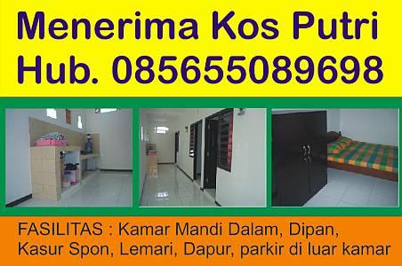 Foto: Terima Kos Puteri Single Di Wiyung, Surabaya