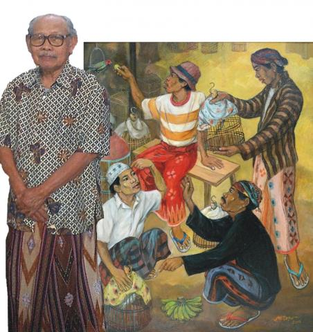 Foto: Pameran Tunggal Soetopo Melintasi Jaman