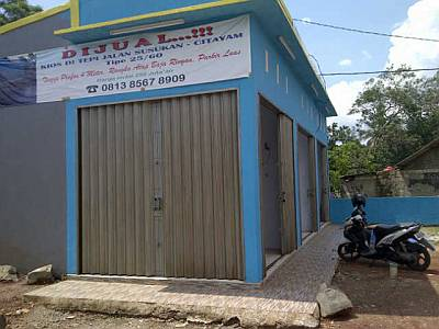 Foto: Dijual Kios Baru Di Tepi Jalan Susukan, Citayam