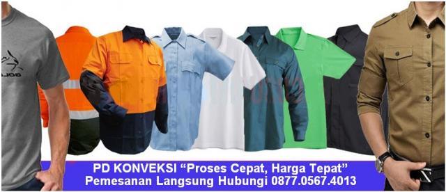 Foto: Pusat Jasa Konveksi Baju, Kaos, Jaket & Seragam Murah