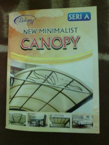 Foto: Buku Desain Pagar,kanopi,teralis,