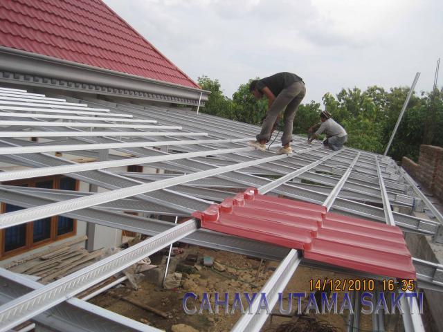 Foto: Rangka Atap Termurah Bersni Di Surabaya