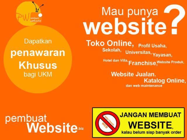 Foto: Jasa Pembuatan Website Kota Padang