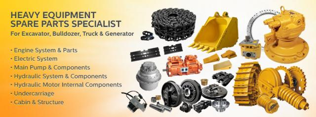Foto: Distributor And Heavy Equipment Power Part Suply