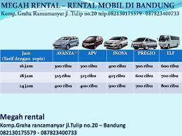 Foto: Megahrental, Sewa Mobil Murah Di Bandung | Rental Mobil Di Bandung
