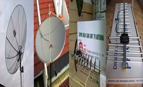 Foto: Jasa Pasang Antena Tv Dan Parabola