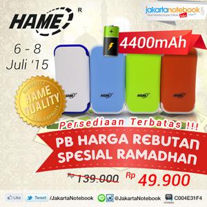 Foto: PB Hame ME12 4400mah Hanya Rp 49.900