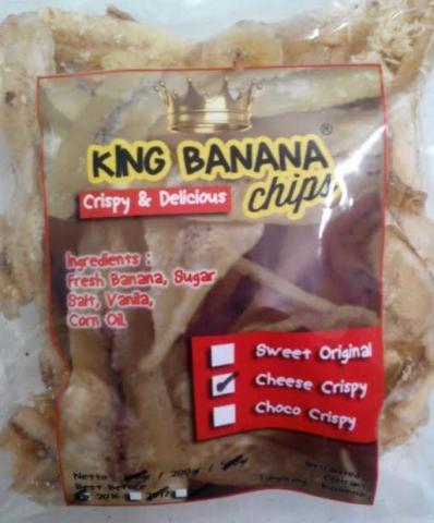 Foto: Jual Keripik Pisang King Banana Chips Nikmat Dan Sehat
