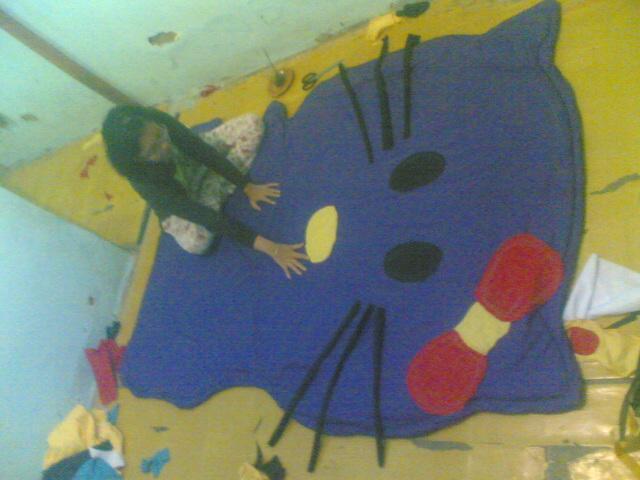 Foto: Kasur Lantai Karakter, Bedcover Bentuk Kartun,karpet Karakter