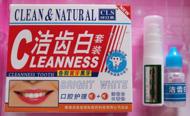 Foto: Cleanness Tooth Penyegar + Pemutih Gigi