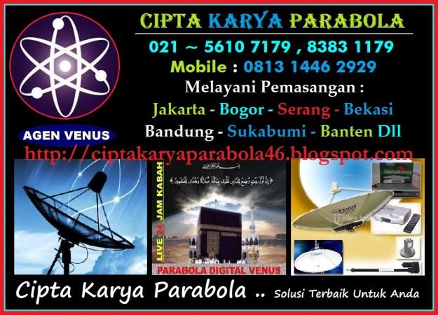 Foto: Pasang Parabola Venus Hdmi Murah