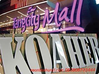 Foto: Tempat Pembuatan Neon Box Dijakarta