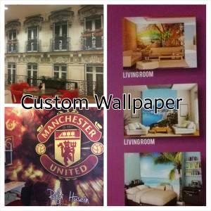 Foto: Wallpaper Dinding Custom Dan Wallsticker