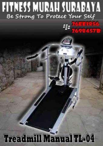 Foto: Harga Treadmill Manual Murah