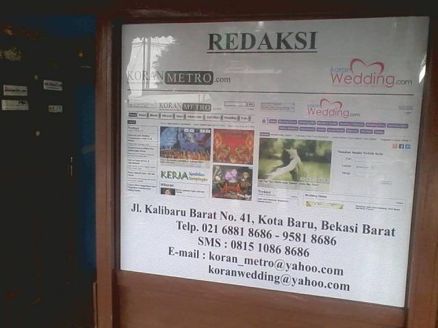 Foto: Mau Jadi Wartawan? Ikuti Kursus Jurnalistik Koranmetro.com