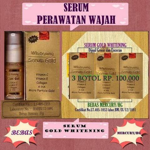 Foto: Serum Gold Whitenning