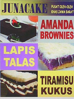 Foto: Lapis Talas Arasari, Amanda Brownies, Tiramisu Kukus Heboh, Brownies Singkong Mr.brownco