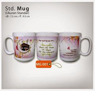 Foto: Mug Foto Untuk Souvenir Ultah Dan Promosi