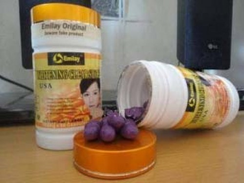 Foto: Jual Obat Pemutih Badan Herbal ( Emilay Pill ) Asli