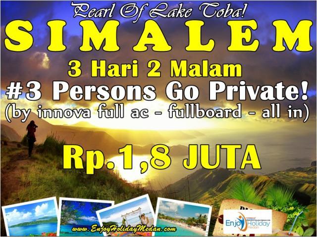 Foto: Promo Paket Tour Medan Danau Toba 3 Hari 2 Malam