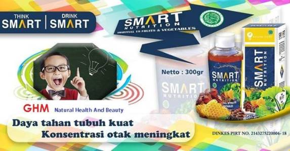 Foto: Herbal Nutrisi Otak ( Smart Nutrition )