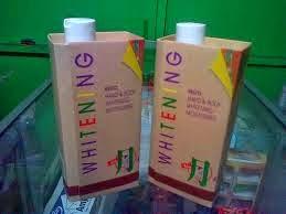 Foto: Cream Lotion Pemutih Wajah Badan Keizo Whitening